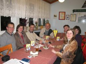 Beim FDP-Stammtisch in Gauangelloch