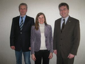v.l.n.r.: Achim Artmann, Claudia Felden, Frank Broghammer
