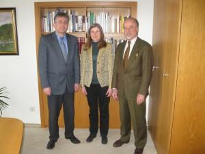 Gespräch mit Bürgermeister Hans-Dieter Weis