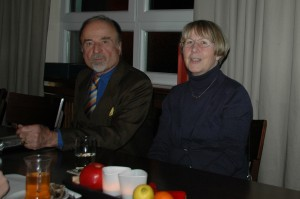 Claudia Felden bei der Liberalen Runde in Dielheim